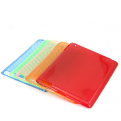 Rossa Tape plastica trasparente case for IPAD 2/3