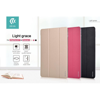 Cover Light grace Per iPad Air 2 & Pro 9.7 con On/Off Gold