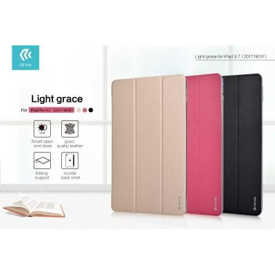 Cover Light grace per iPad Pro 9.7 - 2017 in Pelle Rossa