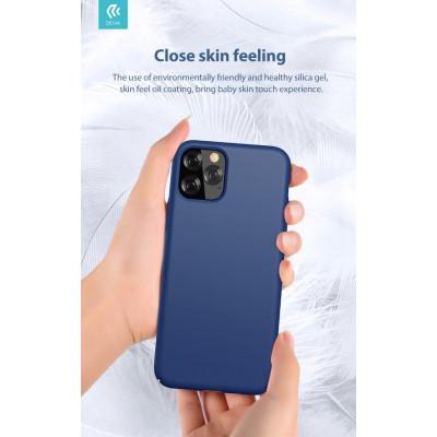 Cover in Silicone e protezione camera per iPhone 11 Blu