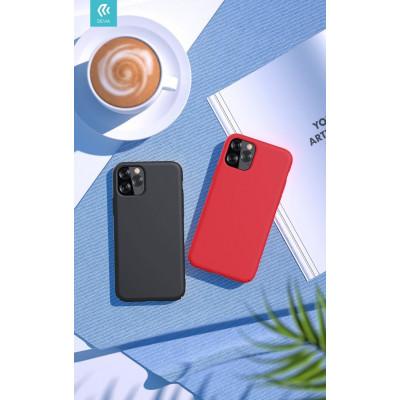 Cover in Silicone e protezione camera per iPhone 11 Nera
