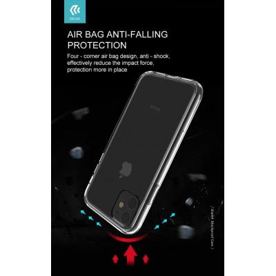 Cover Shark4 Protezione in TPU Trasparente per iPhone 11 Pro