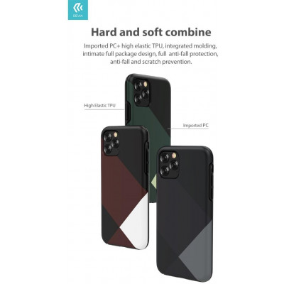 Cover Simple Style per iPhone 11 Pro Verde