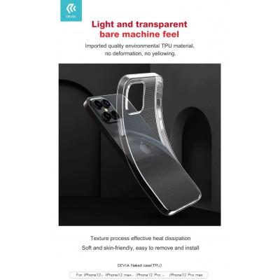 Cover protettiva trasparente morbida per iPhone 12 Mini