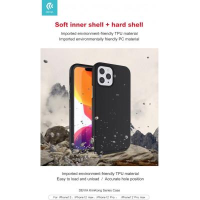 Cover alta protezione interno morbido per iPhone 12 Mini Ner