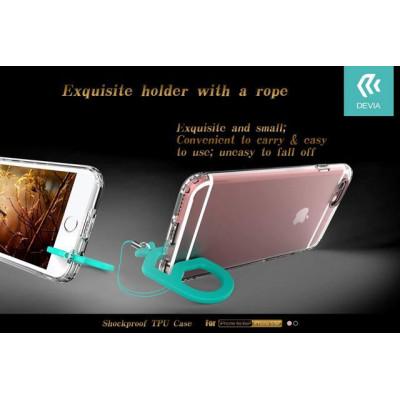 Cover in Gel TPU Slim con Supporto Per iPhone 6/6S Rosa
