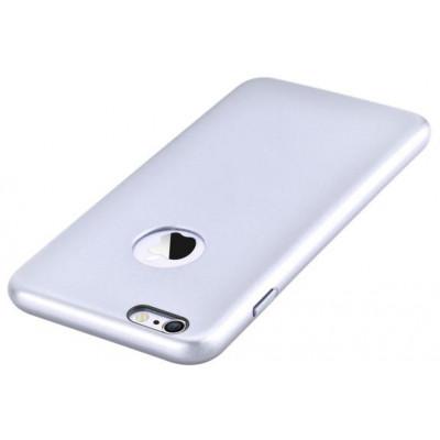 Cover CEO Microfibra iPhone 6/6S Plus Con Vista Logo Silver