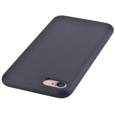 Cover Jelly slim in Pelle per iPhone 6S/6 Plus Nera