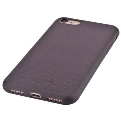 Cover Jelly slim in Pelle per iPhone 6S/6 Plus Marrone