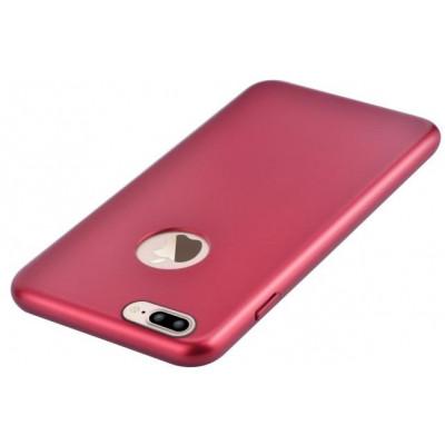 Cover C.E.O. Microfibra Per iPhone 7 Con Vista Logo Porpora
