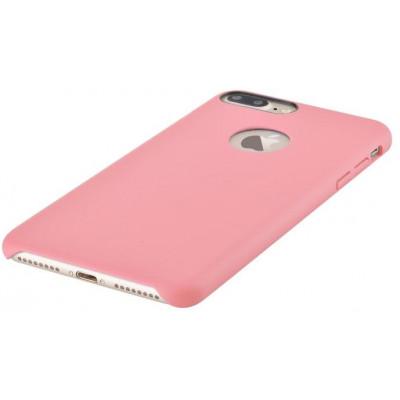 Cover C.E.O. Microfibra Per iPhone 7 Con Vista Logo Rosa