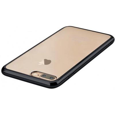 Cover Glimmer con Retro Flessibile per iPhone 7 & 8 Nera