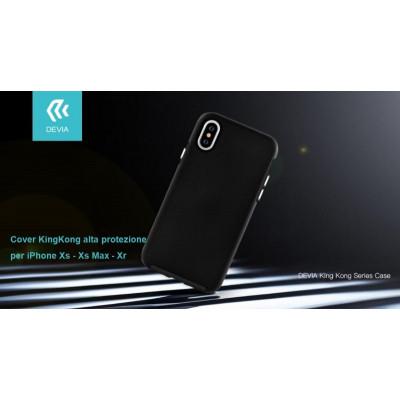 Cover KinKong alta protezione per iPhone Xs 5.8 Nera