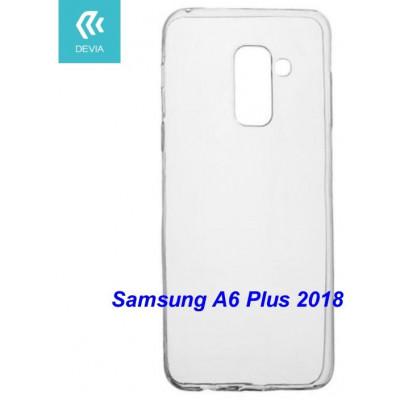 Custodia protettiva morbida per Samsung A6 Plus 2018