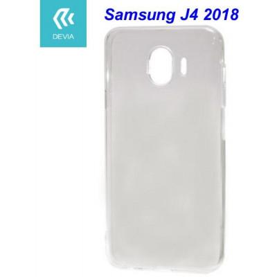 Custodia protettiva morbida per Samsung J4 2018 trasparente
