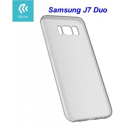 Custodia protettiva morbida per Samsung J7 Duo