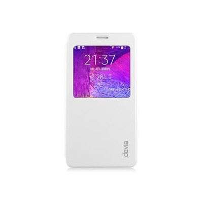 Talent Pure Whit for  Galaxy Note4 Material Premium PU folio