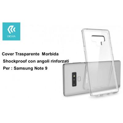 Custodia Shockproof per Samsung Note 9 trasparente