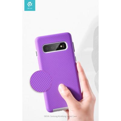 Cover Alta Protezione 360° per Samsung S10 Plus Viola