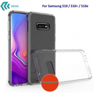 Cover Alta Protezione per Samsung S10e in TPU Trasparente