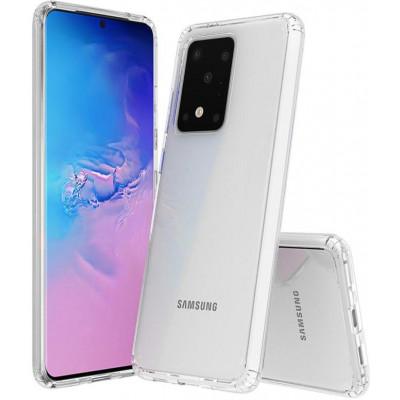 Cover Alta protezione trasparente per Samsung S20 Ultra