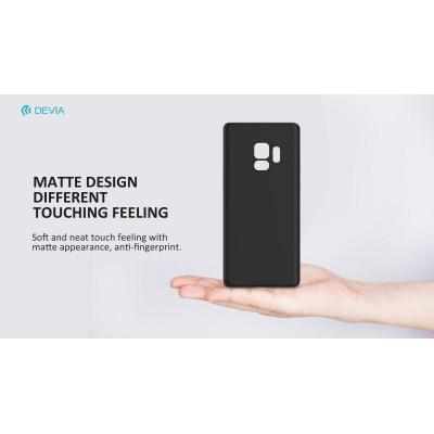 Cover PP Devia Protezione per Samsung Galaxy S9 Nera