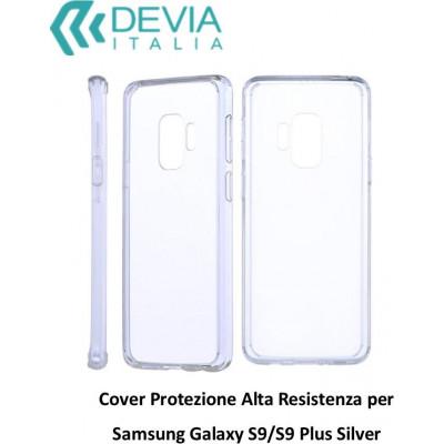 Cover Protezione Alta Resistenza per Samsung Galaxy S9 Silve