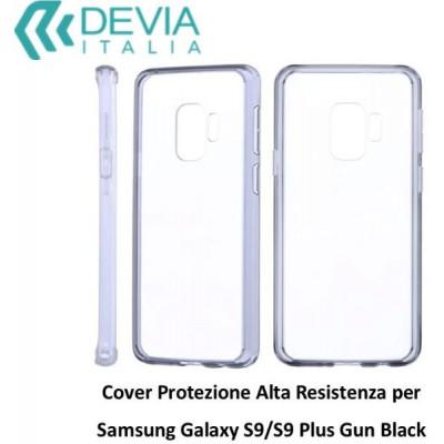Cover Alta Resistenza per Samsung Galaxy S9 Plus Nera