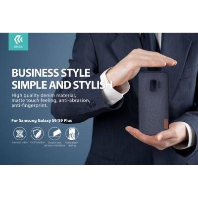 Cover Protezione Flax per Samsung Galaxy S9 Nera