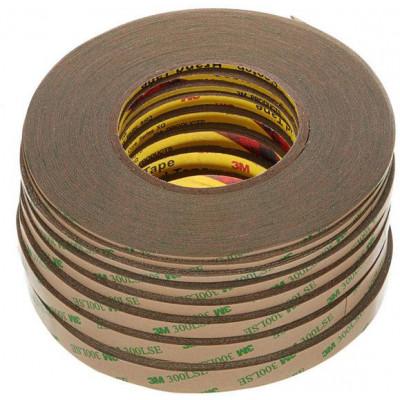 3M 300LSE Biadesivo Trasparente Alta tenuta da 5mm