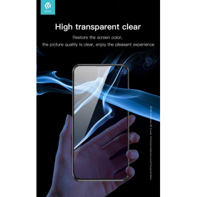 Pellicola in vetro temperato Full 3D per iPhone 11 Pro Nera