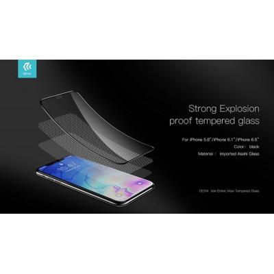 Protezione in vetro temperato Full per iPhone SE2 Bianca