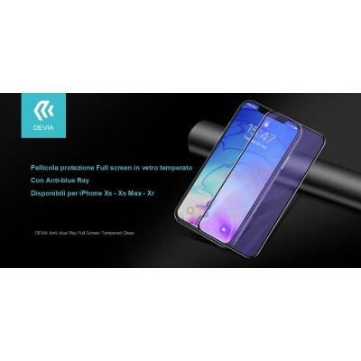 Pellicola Full in vetro temperato Anti-blue Ray iphone Xs