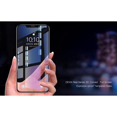Pellicola vetro temperato Full screen 3D per iPhone Xs Max