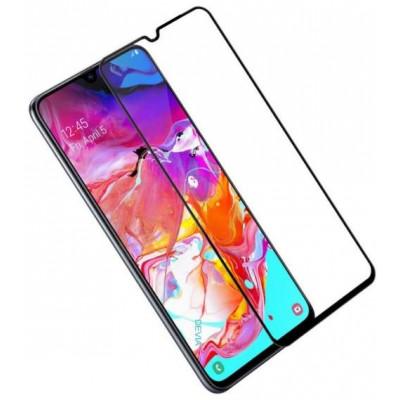 Pellicola vetro temperato Full Screen per Samsung A10e Nera