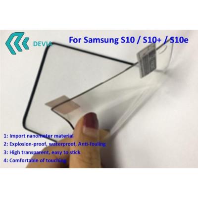 Pellicola Protezione Full Samsung S10e Explosion-proof Nera