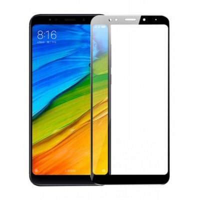 Pellicola in vetro temperato Full per Xiaomi Redmi 5 Nera