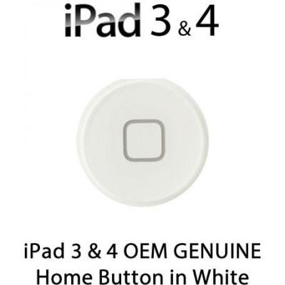 Pulsante Home per New iPad (iPad 3) / iPad 4 , Bianco