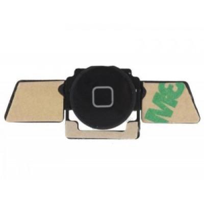 Pulsante Home assemblato per iPad 3 e 4 Nero