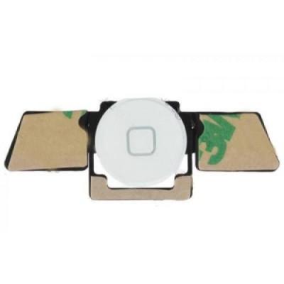 Pulsante Home assemblato per iPad 3 e 4 Bianco