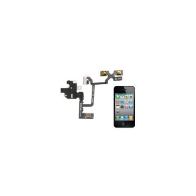 Cavo flessibile con Jak Audio per iPhone 4 Bianco