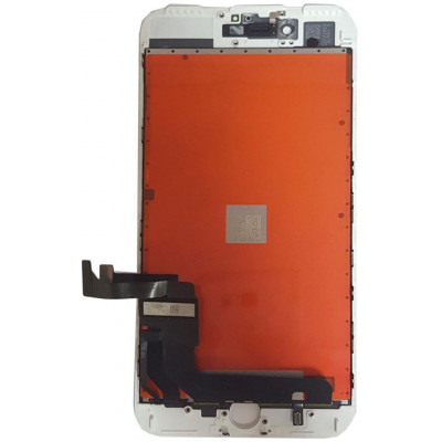 Touch LG o Toshiba AAA+ & LCD Per Apple iPhone 7 Plus Bianco