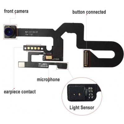 Telecamera frontale sensore di prossimità per iPhone 8 Plus