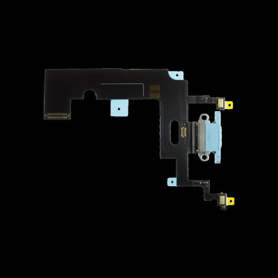 Connettore carica per iPhone XR Blu