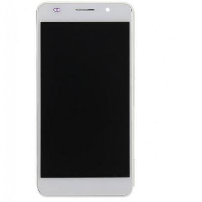 Lcd con Frame Originale per Huawei Honor 6 Bianco