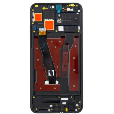 Lcd Huawei Honor 8X - View 10 Lite JSN-L21 con Frame Nero