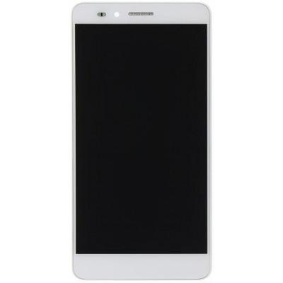 Lcd con Frame Originale per Huawei Honor 5X Bianco