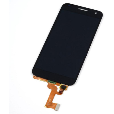 LCD + Touch senza Frame per Huawei G7 G7-L01 G7-L03 Nero