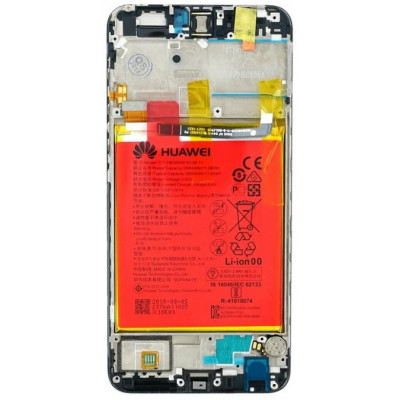 Lcd Huawei P Smart Service Pack 02351SVJ Nero