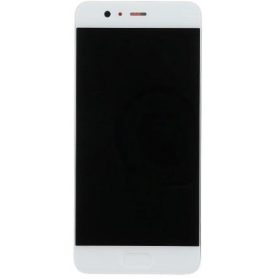 Huawei P10 LCD Display con Frame Originale Bianco